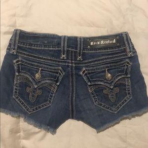 Rock revival shorts (Debbie short) size 26